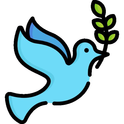 Peace dove from Flaticon