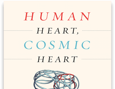 Book cover: Human Heart; Cosmic Heart