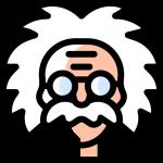 Einstein drawing
