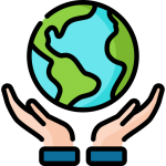 Earth in caring hands