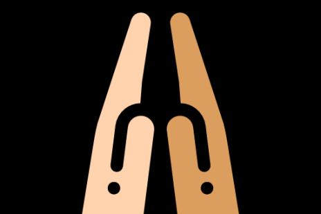 Hands giving high five