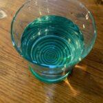 PolarAid disc glass with water