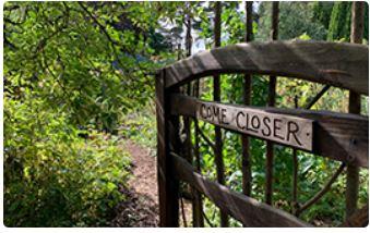 Findhorn Come Closer gate